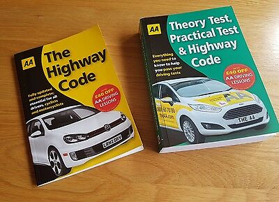 Theory test AA books