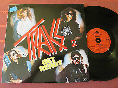 "TRAKS – GET READY – 12"" Vinyl LP 1983 – Synth-Pop/Funk – Top Zustand"