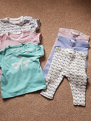 Next t-shirts and leggings sets size 0-3 months