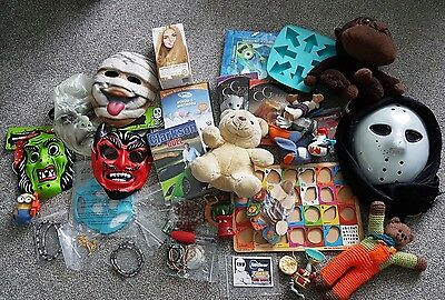 Mixed Job Lot Car Boot Bundle Of Items, Small Toys, Dvds, Household & More #1