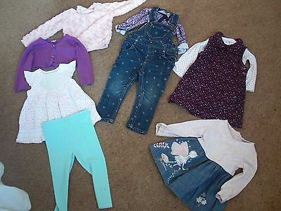 Baby Girls Clothes Bundle12-18 Months Baby, Mantaray MTY, Tu, Next,