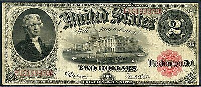United States  $2 Legal Tender Note  Series 1917  You Do The Grading