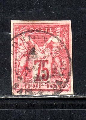 Item No. A2394 – French Colonies - Scott # 28 – Used