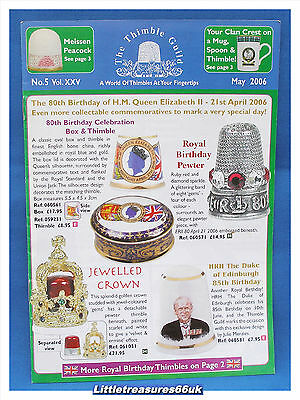 Thimble Guild Monthly Magazine....2006 May