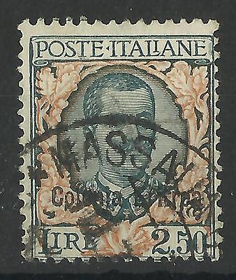 ITALY OCCUPATION OF ERITREA 1928 KING VICTOR EMMANUEL 111 2L 50c USED