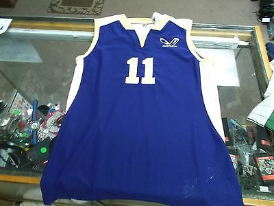 Eagles #11 Women's Russell Athletic Basketball Jersey Size Medium Purple #7809
