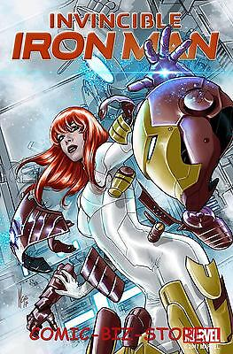 Invincible Iron Man  #8 (2017) 1St Printing Checcetto Mary Jane Variant Cover