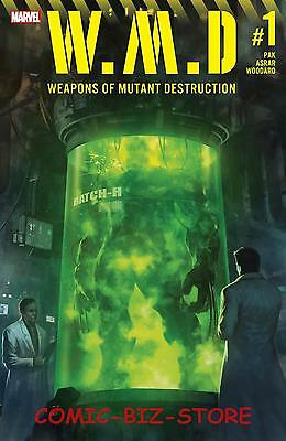 Weapons Of Mutant Destruction #1 (2017) 1St Printing Bagged & Boarded  X-Men