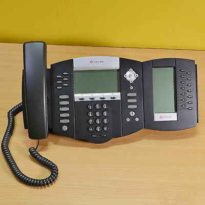 Polycom Soundpoint IP650 Phone & 1 x Soundpoint IP650 Expansion Module.