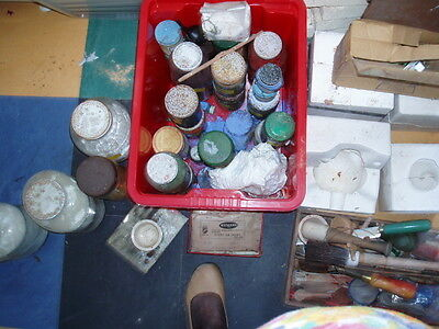 Pottery Making Supplies Oxides Moulds And Tools Bulk Collection
