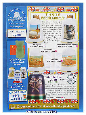Thimble Guild Monthly Magazine....2010 July