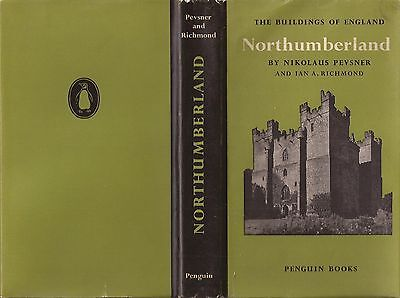 Pevsner Northumberland The Buildings Of England Series 1957 First Edition.