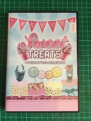 Crafters Companion Sweet Treats Printable DVD...New