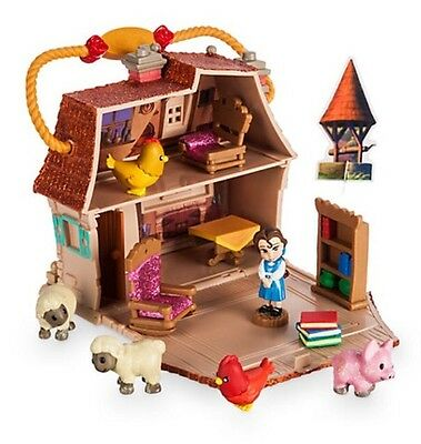 Disney Beauty And The Beast Belle Micro Animator Playset Play Set Littles House