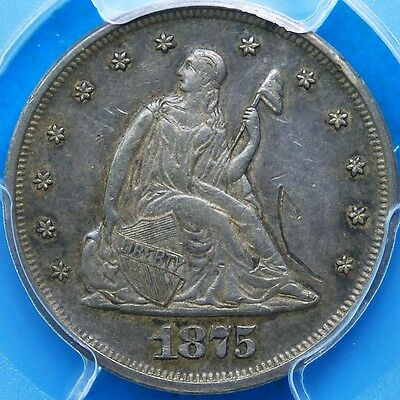 1875 20 Cent Piece, PCGS,  XF-Details Tooled , Shipping Combined (More at Store)