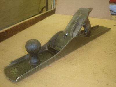 ANTIQUE STANLEY No.7 JOINTER PLANE SMOOTH BOTTOM PLANE MADE IN USA VERY GOOD
