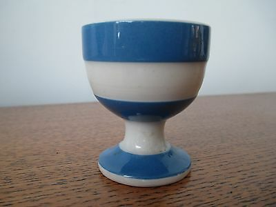 T.G.Green Original Cornish Ware Footed / Pedestal Egg Cup c1928