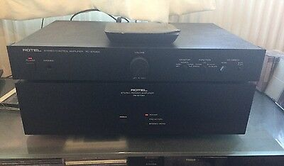 Rotel RB 870 BX Stereo Pre Power Amplifier Combo