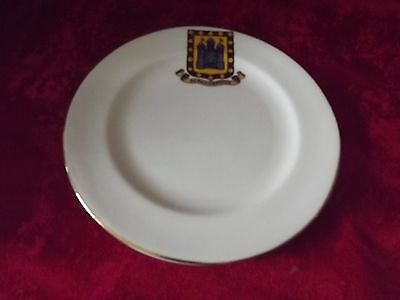 Berkhamsted (Berkhampsted) Crested Ware 6 Inch Plate By W H Goss