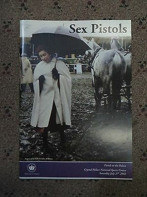 Sex Pistols, Pistols At The Palaceofficial Silver Jubilee Magazine. 27Th July 02