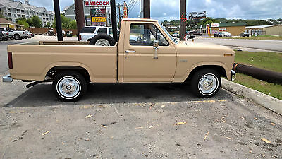 1984 Ford F-150  1984 Ford F-150 Short Bed Pickup Truck