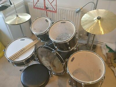 "Mapex 20"" Drum Kit + stool and music stand"