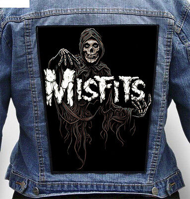 Misfits - Giant Indestructible Photo Quality Backpatch Back Patch