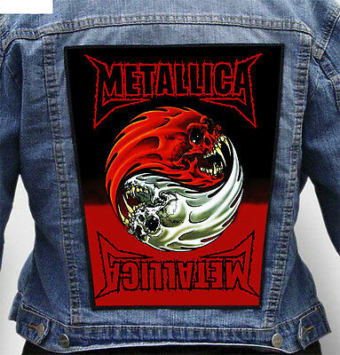 Metallica - Giant Indestructible Photo Quality Backpatch Back Patch