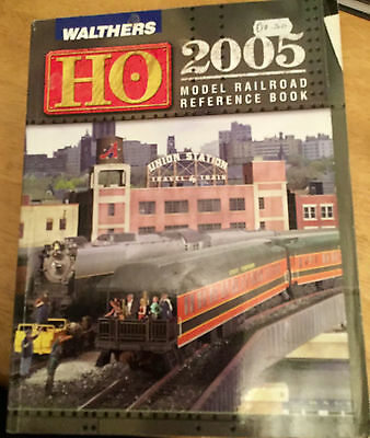 Walthers HO Catalogue 2005 Model Railroading Reference Book