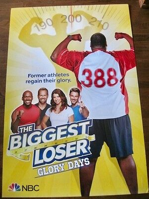 New NBC Promotional TV Show Poster The Biggest Loser Glory Days