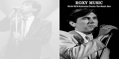 Roxy Music - Omaha The Music Box (1979)   2 disc set