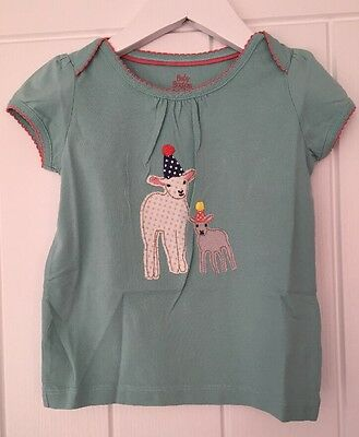 *New* Boden Girls 12-18 Months 'Party Lamb' T-shirt.