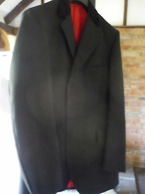 Mens black showing jacket