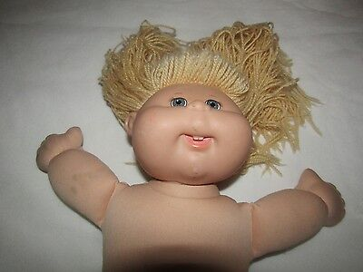 Blonde Cabbage Patch Doll 2004 Signed Xavier Roberts - Good Condition -Undressed