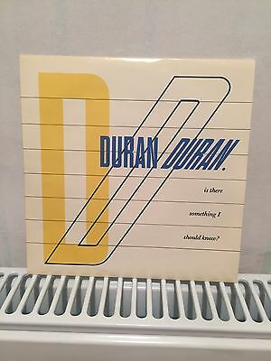Rare Duran Duran 'Is There Something I Should Know' Vinyl Single