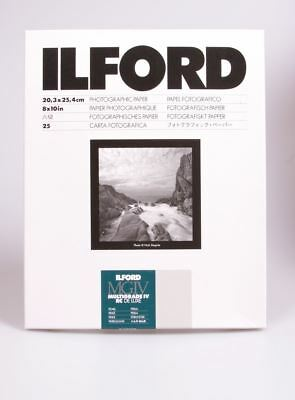 Ilford MG RC Deluxe Paper Pearl 25 Sheets 8x10