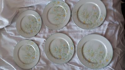 denby sunflowers 6 side plates and 6 dinner plates
