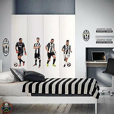 North Star Tg: 50.0X70.0X0.5 Cm Multicolore Juventus 4 Top Players Nuovo