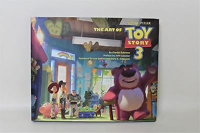 DISNEY Pixar The Art Of Toy Story 3 Signed Copy By Lee Unkrich Hardcover Book