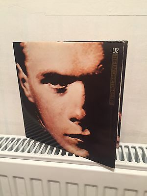 Rare U2 'the Unforgettable Fire' Ltd Edt Dble Disc Gatefold Sleeve Vinyl Single