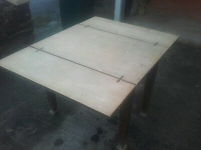 Antique Fold out Table Shabby Chic Vintage