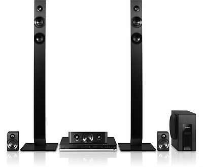Panasonic SC-BTT465EBK Smart 3D Blu-ray 1000W 5.1 Home Cinema System - Bluetooth