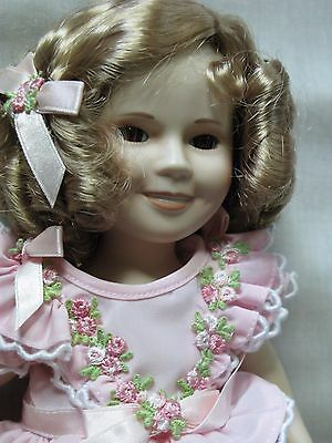 Danbury Mint Shirley Temple Doll Little Colonel VGC