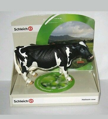 Schleich 13633 Holstein Cow Toy Figurine New In Package Ages  3+