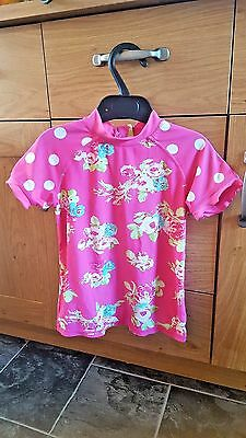 GIRL AGE 3-4 years  swimming top from next