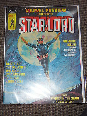 MARVEL PREVIEW PRESENTS # 4 – The 1st APPEARANCE of STARLORD -