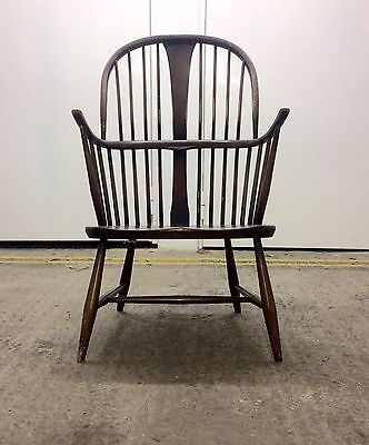 Vintage Mid Century Ercol Chairmaker's Armchair.