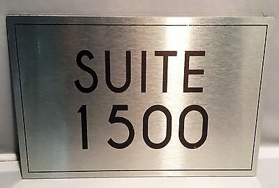 Authentic Grimm TV Prop Hotel Suite 1500 Metal Sign