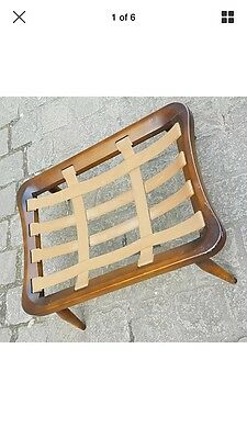 Ercol 341 Footstool Frame - Gold Label - Vintage Retro Mid Century
