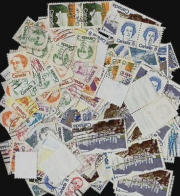 Canada lot of Stamps ; USED ; All DEFINITIVE ;  20 gr of stamps  (LOT#2)